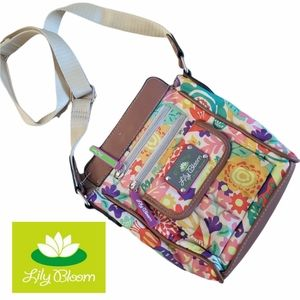 Vegan Lily Bloom Crossbody Bag